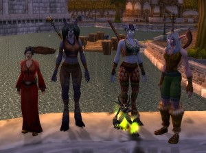 Four Go to Goldshire