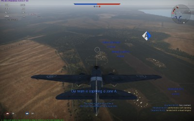 Our team capture airfield A as I offer moral support and resist the temptation to drop bombs