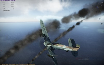 A Hurricane in War Thunder