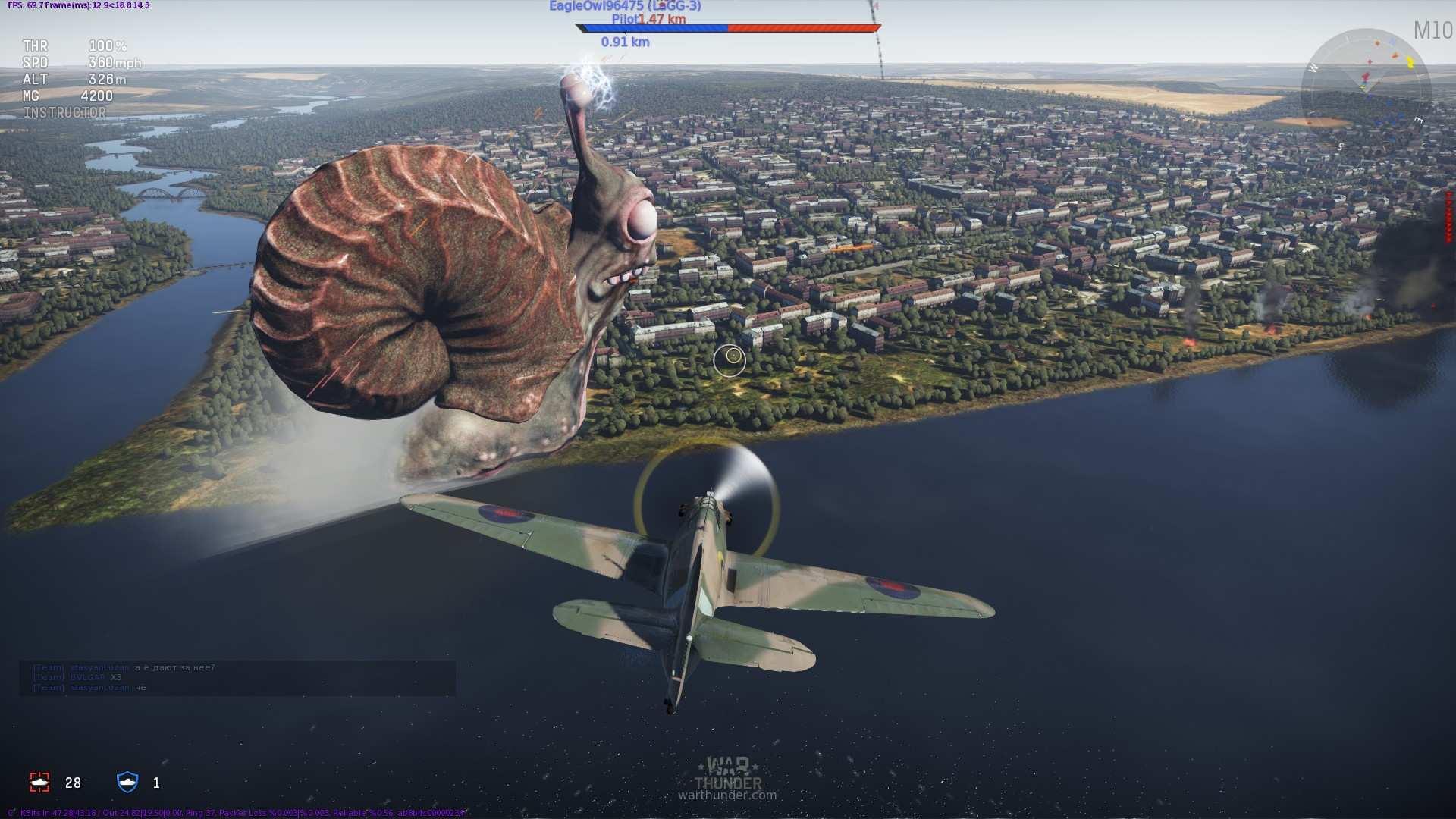 War Thunder Killed In A Smiling Accident