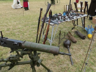 Whatever happens they have got The Maxim gun and we have not