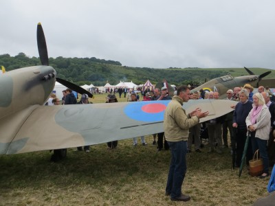 James Holland expounds on the Spitfire